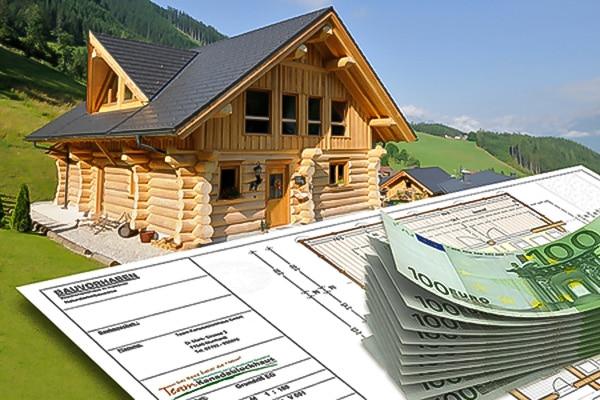 Baukosten für ein Naturstammhaus